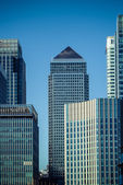 London's Canary Wharf — Stock Photo