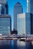 London's Canary Wharf — Stock Photo