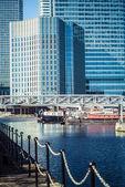 London's Canary Wharf — Foto de Stock