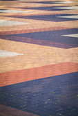 Abstract pavement pattern — Stock Photo