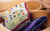 Pin cushion — Stock Photo