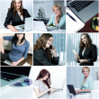 Collage of different business images — Stock Photo #26079339