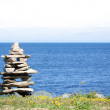 Inukshuk, Canada — Stock Photo