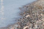 Beach pebbles — Stock Photo