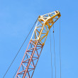 Mobile tower crane — Stock Photo #10256987