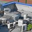 Industrial ventilation system - Stock Photo