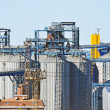 Stock Photo: Port grain dryer