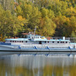 Motor travel river ship — Stock Photo #13619743