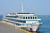 Cruise tourist ship — Stock Photo