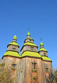 Antique wooden church — Photo