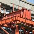 Stock Photo: Bridge repair and construction site