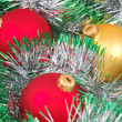 Christmas ball and decoration - Stock Photo