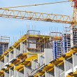 Concrete formwork and crane — Stock Photo #18922757