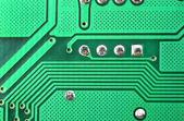 Circuit board background — Stock fotografie