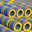 Steel metal-roll - Stock Photo
