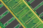 Ram memory background — Stock Photo