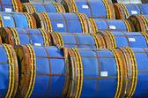 Metallo-rullo in acciaio — Foto Stock