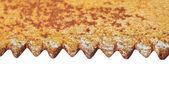 Close up of rusty saw blade — ストック写真