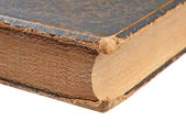Ancient book close-up — Stock Photo