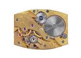 Inside the clock (clockworks) — Stock Photo