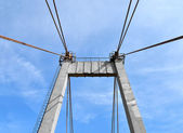 Bridge pylon — Stock Photo