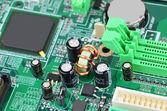 コンピューターのマザーボード基板 — ストック写真
