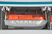 Safety lifeboat — Stock Photo