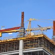Concrete formwork and crane — Stock Photo #24903695