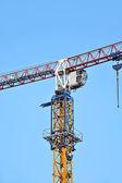 Stavební věžový jeřáb — Stockfoto