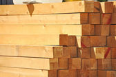 Wooden beam — Stock Photo
