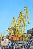 Cargo crane — Stock Photo