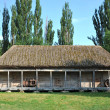 Ancient wooden barn — Stockfoto #27959311