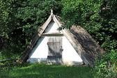 古代の木造の納屋 — ストック写真