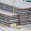 Stock Photo: Steel metal sheet