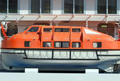 Safety lifeboat — Stock Photo