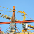 Concrete formwork and crane — Stock Photo #30053989