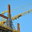 Concrete formwork and crane — Stock Photo #30268303