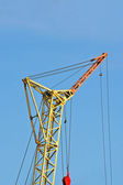 Mobile tower crane — Stock Photo
