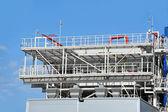 Sistema de ventilación de fábrica — Foto de Stock