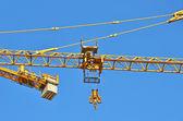 建設タワー クレーン — ストック写真