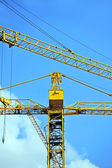 Construction tower crane — Stock fotografie