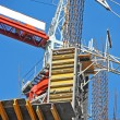 Concrete formwork and crane — Stock Photo #30636335