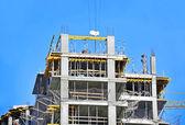 Construction site work — Stock Photo