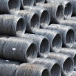 Stock Photo: Steel wire roll