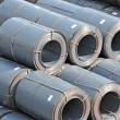 Steel metal-roll — Stock Photo