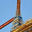 Stock Photo: Construction site work