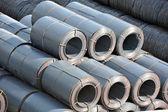 Steel metal-roll — Stock Photo