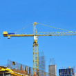 Crane and construction site — Stock Photo #34419885