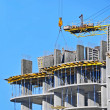 Crane and construction site — Stock Photo #34682227