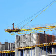 Crane and construction site — Stock Photo #34682259